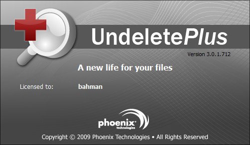 Undelete Plus v3.0.1.712