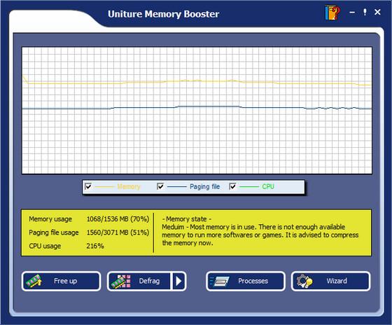 Uniture Memory Booster v6.1.0.5240