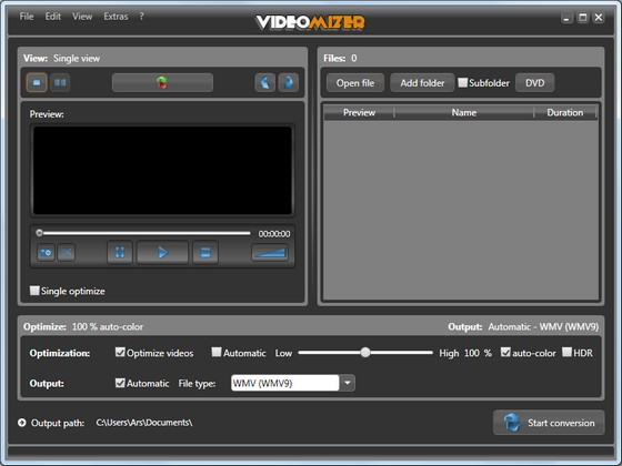Videomizer v1.0.10.922