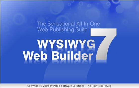 WYSIWYG Web Builder v7.6.4