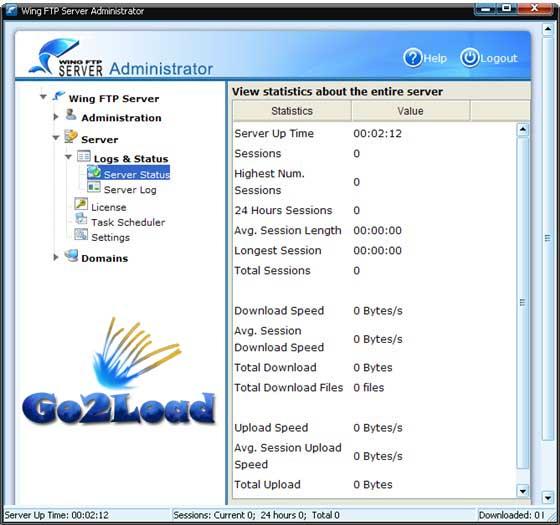 Wing FTP Server v3.4.5