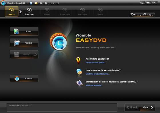 Womble EasyDVD v1.0.1.25