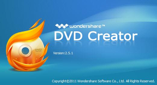 Wondershare DVD Creator v2.5.1.4