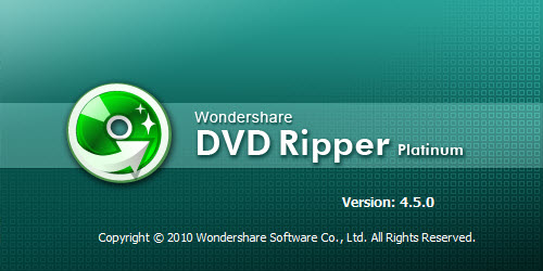 Wondershare DVD Ripper Platinum v4.5.0