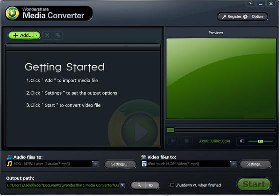 Wondershare Media Converter v1.3.0
