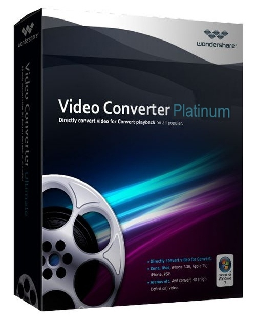 Wondershare Video Converter Platinum v5.1.4