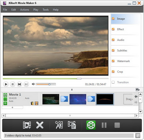 Xilisoft Movie Maker v6.0.3 Build 0806