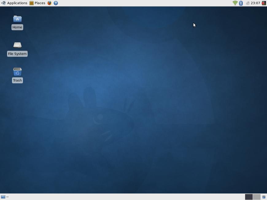 Linux Xubuntu v10.10 Maverick Meerkat