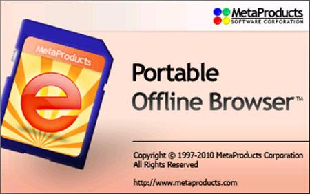 Portable Offline Browser v5.9.3254 SR1