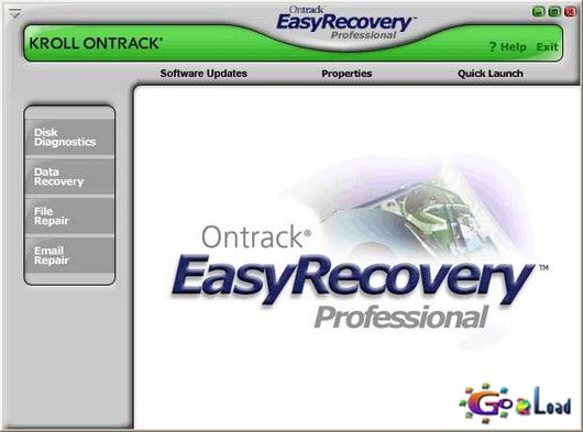 Portable Ontrack EasyRecovery Professional v6.21