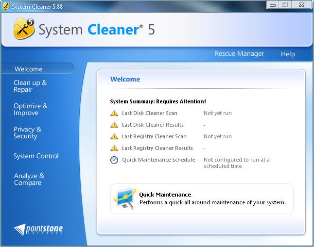 Portable System Cleaner v5.88