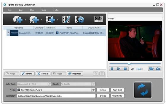 Portable Tipard Blu-ray Converter v6.1.10