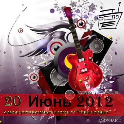 20 самых ротируемых песен Наше радио (июнь 2012)
