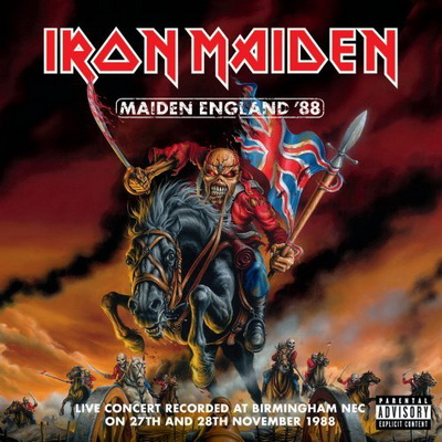 Iron Maiden - Maiden England '88 (2CD) (2013)