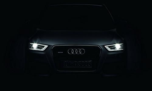 Фотографии компактного кроссовера Audi Q3