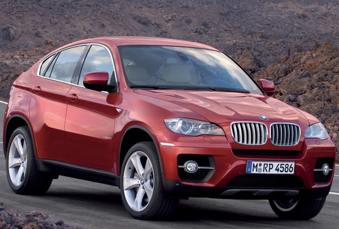 Новый BMW X6. Фото