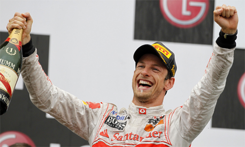 Дженсон Баттон выиграл Гран-при Канады