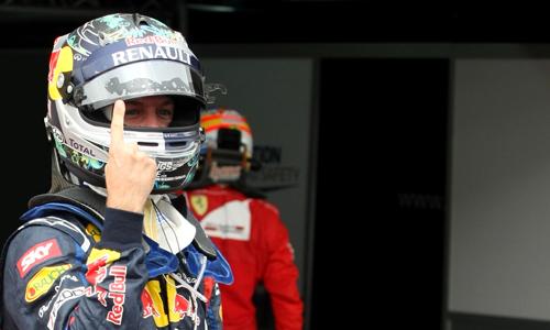 Себастьян Феттель стартует с поул-позиции на Гран-при Бразилии