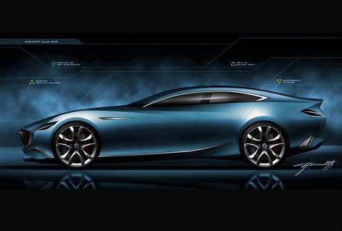 Концепт Mazda Shinari сделал продемонстрировал новый стиль марки