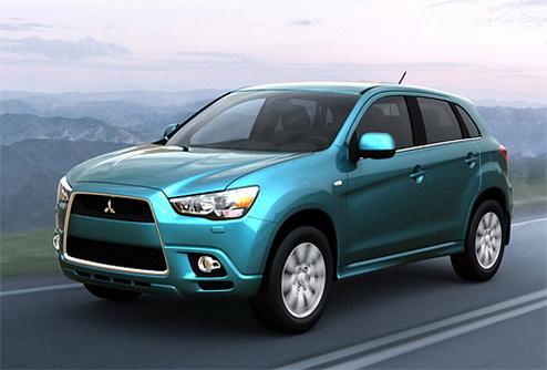 Новый кроссовер Mitsubishi покажут в марте