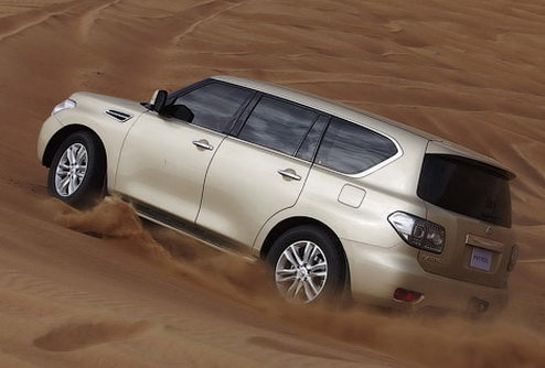 Компания Nissan официально представила новый Patrol