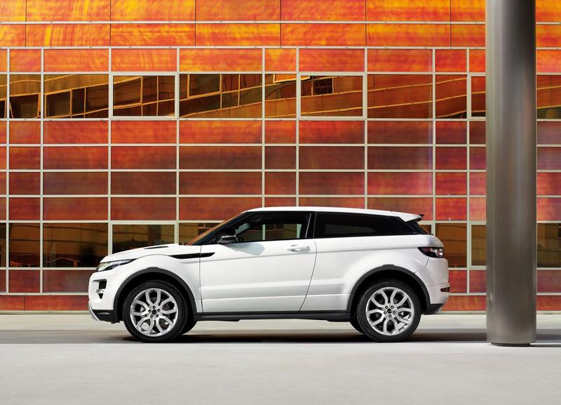 Совершенно новый Range Rover Evoque