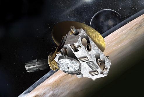 Самый быстрый космический аппарат прошел половину пути до Плутона