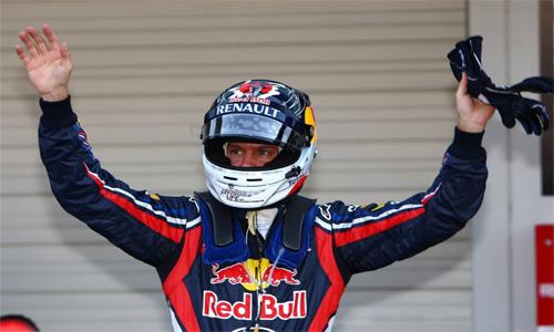 Себастьян Феттель завоевал поул-позицию на Гран-при Японии