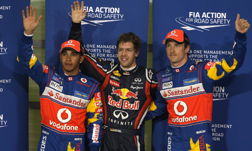 Себастьян Феттель завоевал поул-позицию на Гран При Абу-Даби