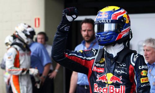 Марк Уэббер победил на Гран-при Бразилии