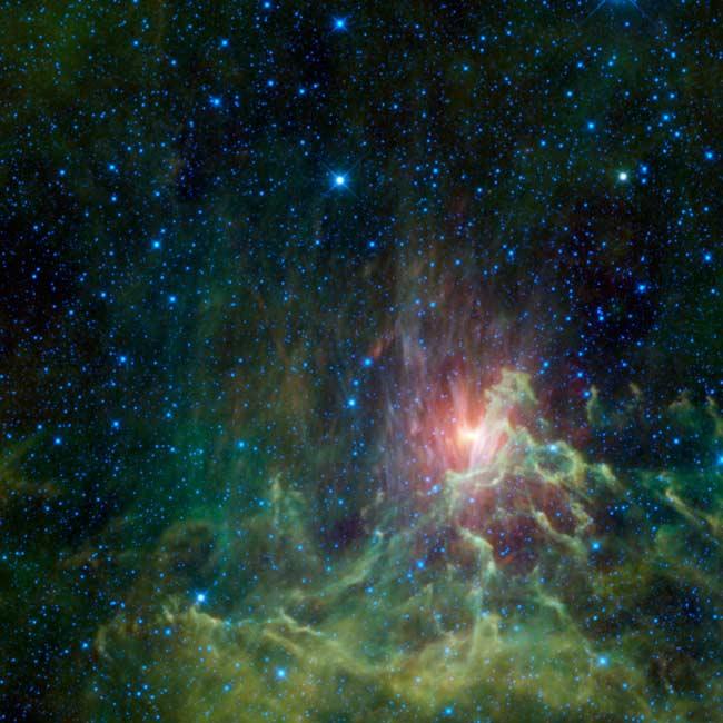 Телескоп WISE сфотографировал космические диковины