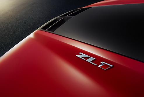 Фотографии 550-сильного купе Chevrolet Camaro ZL1