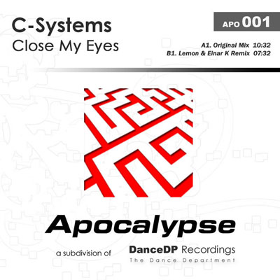 C Systems - Close My Eyes (incl. Lemon & Einar K Remix) (2008)